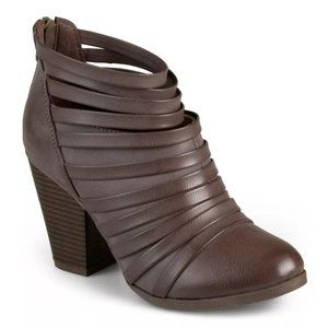 Strappy Heeled Booties from Journee Collection